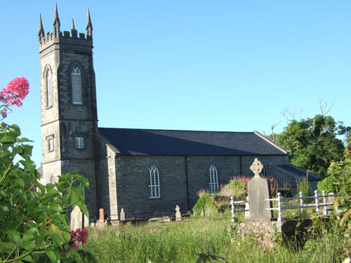 The former Church of Ireland church at Grace St